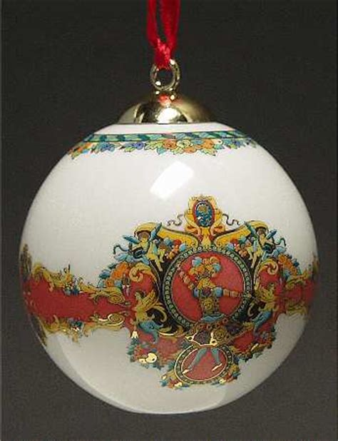rosenthal continental versace christmas ornament