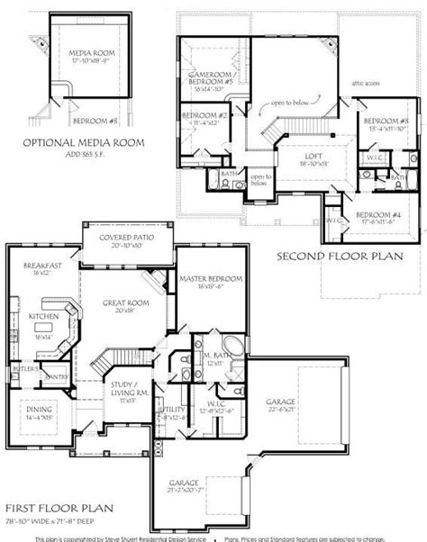 square kitchen floor plans 2 story 3885 square foot air conditioning optional