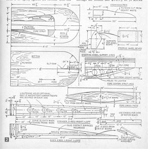 minimax boat plans hydroplanes minimax