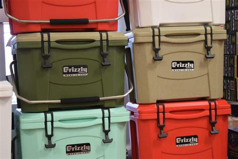 yeti  grizzly coolers   factor  premium coolers
