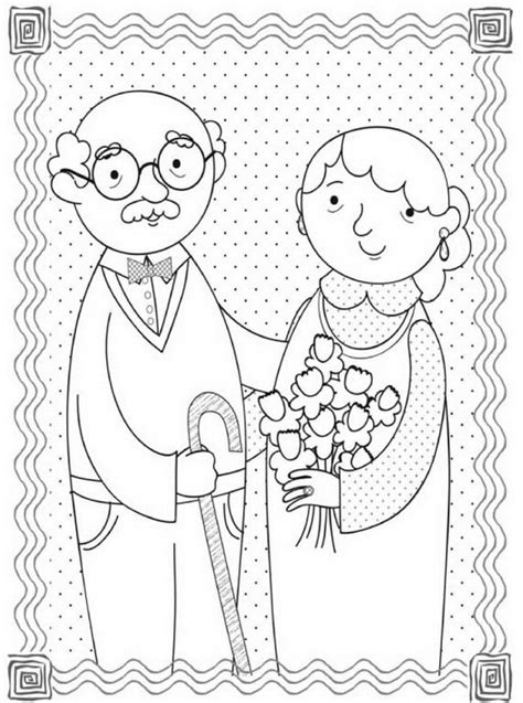 Grandparent Coloring Pages Coloring Pages Grandparents Reading Coloring Pages by Grandparent Coloring Pages