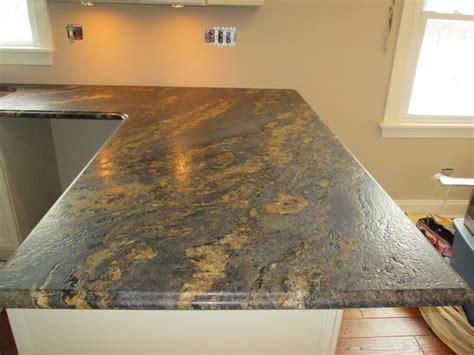 Edge Finishes For Granite Countertops by 3 Cm Forest Granite Counter Top In Antioch Il