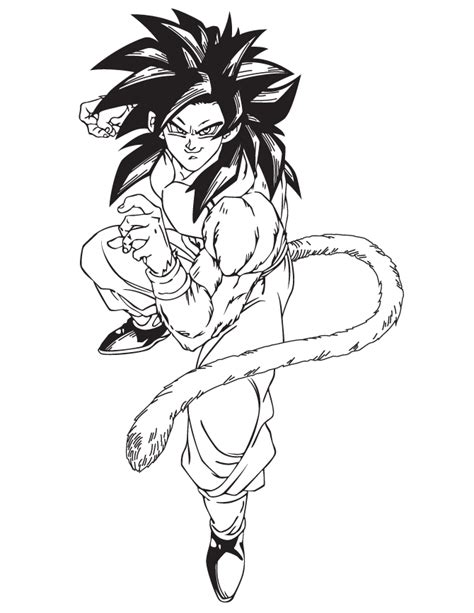dragon ball z coloring pages bardock cartoon dragon ball z bardock coloring page h m