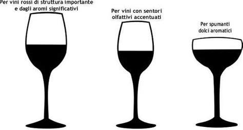 bicchieri per il vino bicchieri degustazione vino rosso bianco