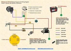 mf 135 gas wiring diagram electrical schematic