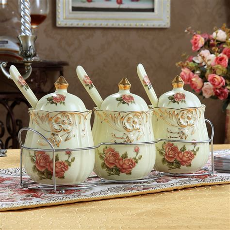 Design For Kitchen Canisters Ceramic Ideas Kitchen Accessories Apple Ceramic Decorative Kitchen Canisters Regarding Kitchen Decorative