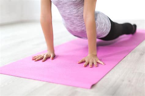 stock photo  balance body exercise