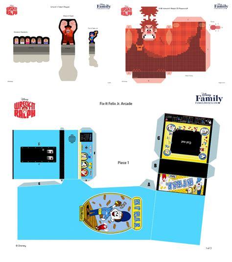 Arcade Papercraft - all you can glue paper arcades howtonotsuckatgamedesign