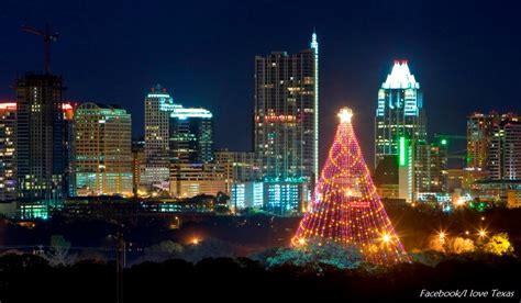 domain austin christmas tree lighting zilker park trail of lights are back