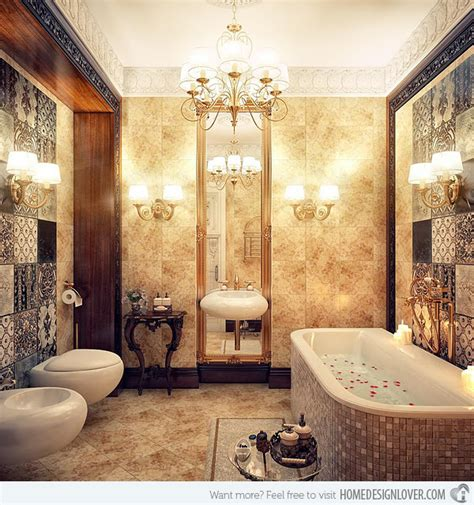 Luxury Bathroom Designs Gallery by 20 Luxurious And Comfortable Classic Bathroom Designs