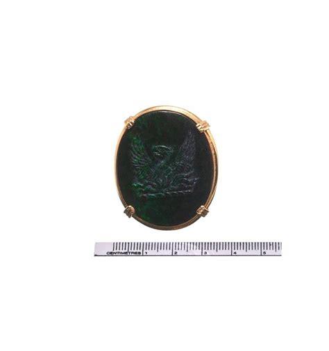 Black Jade Fosil a black jade rising nobleman s ring