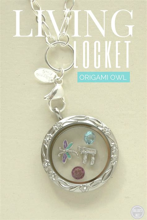 What Is An Origami Owl - origami owl living locket review