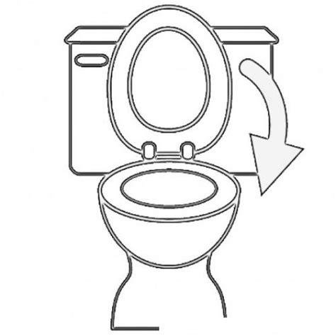 imagenes para colorear water por favor cerrar la tapa del inodoro dibujo para pintar y