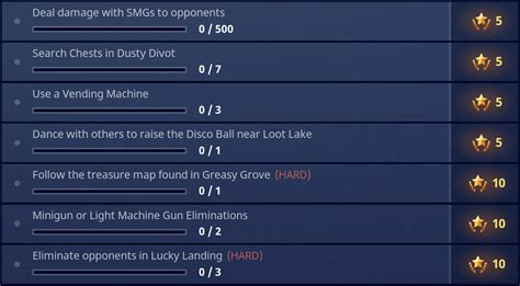 fortnite week 4 challenges fortnite season 4 week 5 challenges guide pro guides