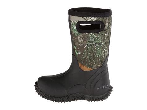 neoprene boots for roper neoprene camo barn boot toddler kid