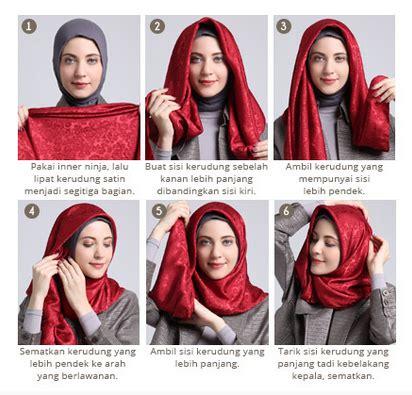 tutorial hijab simple elegan tutorial hijab pashmina satin simple modis dan elegan