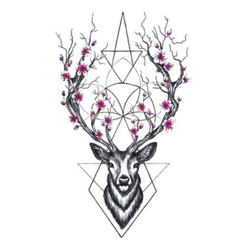 temporary body tattoos deer temporary tattoos for