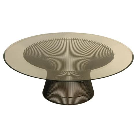 platner coffee table mod cocktail table by warren platner for knoll for