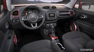 2015 jeep renegade interior design