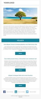Free Marketo Email Templates 6 Free Responsive Marketo Email Templates