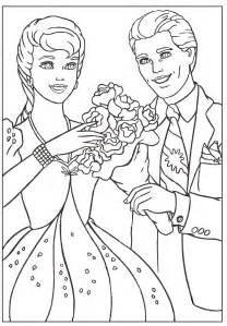 barbie coloring pages ken and barbie mattel s perfect