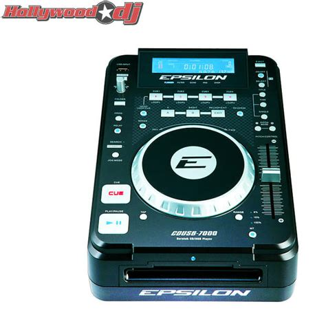 format cd as usb pair of epsilon cdusb 7000 multi format digital dj cd mp3