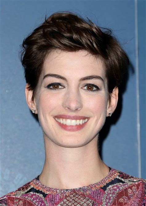 Anne Hathaway Pixie Cut Hairstyles   InspirationSeek.com