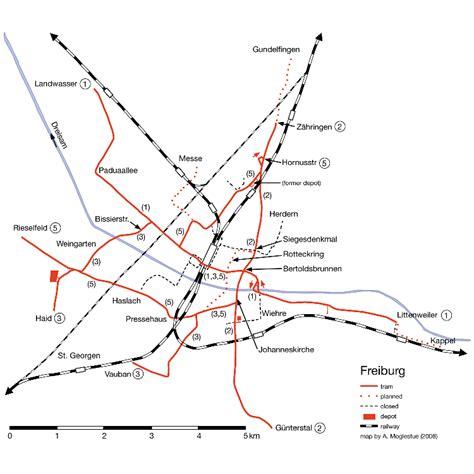 map of freiburg freiburg map 2008
