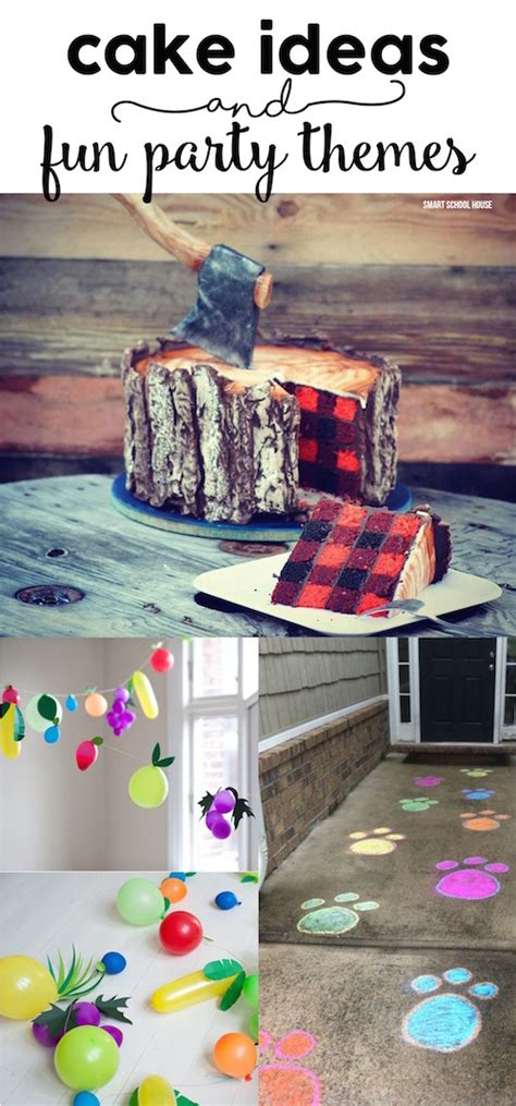 fun party themes cake ideas and fun party themes smart school house