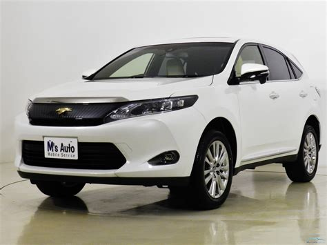 Toyota Harrier 2015 Motors Co Th