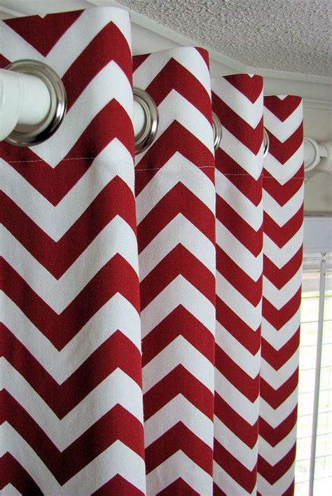 chevron drapes best 10 red bathroom decor ideas on pinterest grey