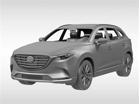 mazda 2016 models and mazda cx 9 2016 3d model max obj 3ds fbx cgtrader com