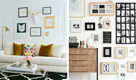 muur vol fotolijstjes kunstspiegel nl