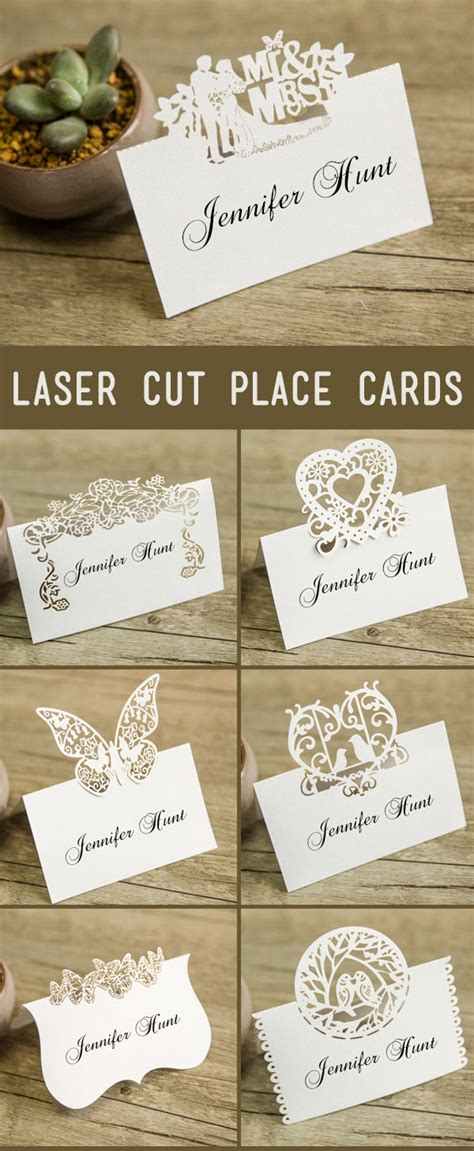 place card ideas wedding place card ideas
