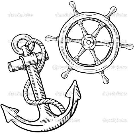 boat steering wheel tattoo ship helm tats tattoos anchor tattoos and