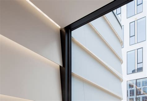 Corian Panels by Dupont Corian 174 Facade Panels Icade Premier House By