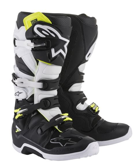 alpinestars tech 7 motocross boots alpinestars tech 7 motocross boots black white stephen