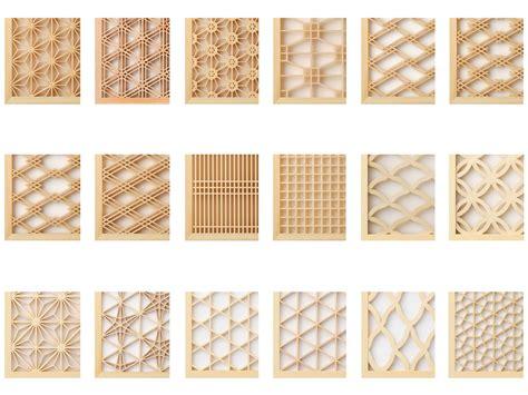 kumiko wood screen  world design guide