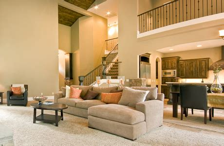 Paint Colors For Open Floor Plan by Living Room Open Floor Plan Open Floor Plan Homes With