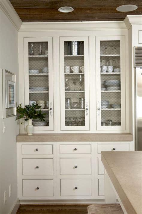 built  china cabinet  glass doors