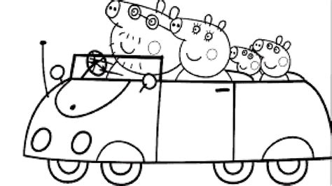 peppa pig coloring book l coloring pages for children learning rainbow colors