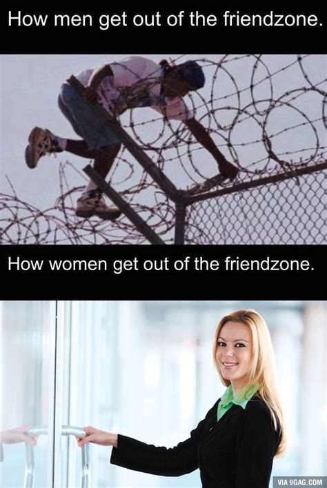 how to get out of the friendzone how men get out of the friendzone 9gag funny pictures