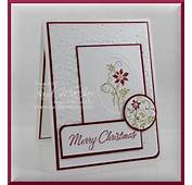 Christmas Card Ideas  Stampin' Up Demonstrator Ann M