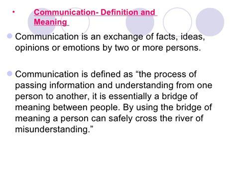 Business Communication Letter Definition Business Communication