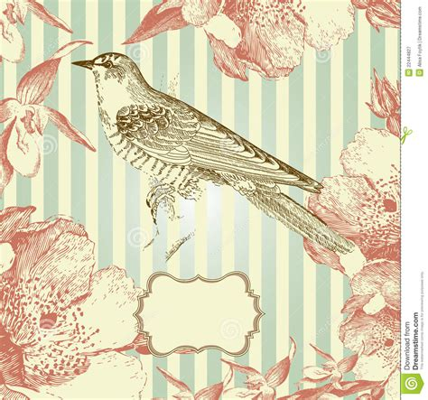 vintage style card royalty free stock photography image