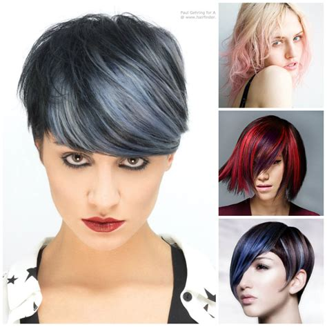 what edgy colors mix well in hair edgy hair highlights to try in 2016 2017 haircuts