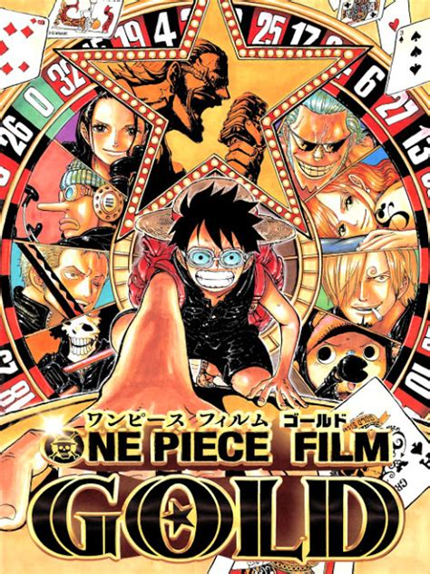film one piece baru poster dan trailer one piece gold anime movie