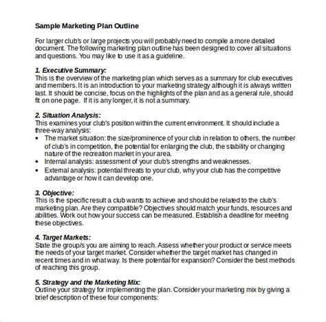22 microsoft word marketing plan templates free