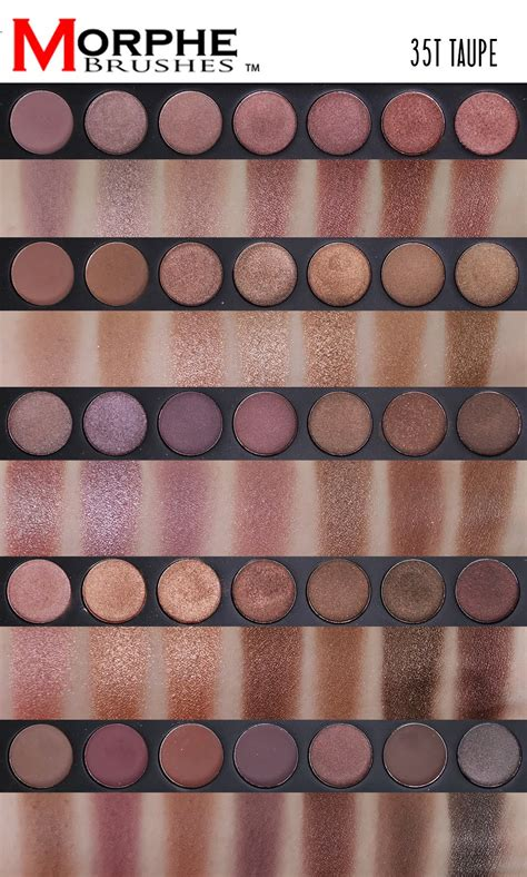 Morphe Brushes T Palette Review And Swatches With Makeup Look Xueqi S Beauty Episode