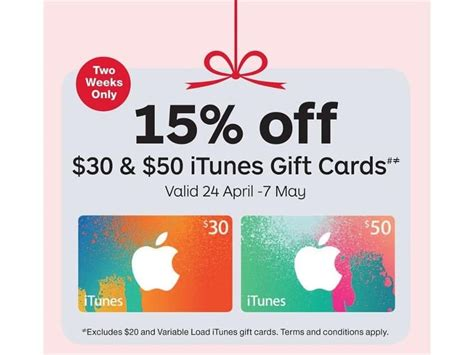 Free Itunes Gift Cards Australia - expired 15 off itunes gift cards at officeworks and australia post 24 april to 7